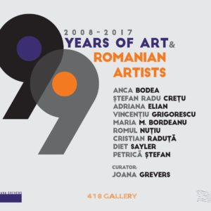 9 YEARS OF ART | 9 ROMANIAN ARTISTS