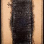 Vincentiu Grigorescu - La porta, 1972 - 1974, oil on canvas, 100x100 cm