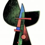 Sorel Etrog - Painted Constructions Series - Corales, 1958, oil on shaped wooden panel with aplied relief, 90 x 60 cm