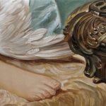 Maria M. Bordeanu - The Hunt Venus, 2012, oil on canvas, 40 x 80 cm