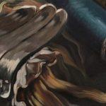 Maria M. Bordeanu, The Hunt Vulcan, 2011, oil on canvas, 40 x 80 cm