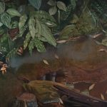 Maria M. Bordeanu - Tropical, 2014, oil on canvas, 60 x 100 cm