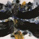 Edo Murtic - Encounter, acrylic on canvas, 150x200 cm