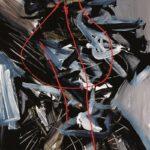 Andrej Jemec - Black in Colour, 2002, acrylic on canvas, 150x97 cm