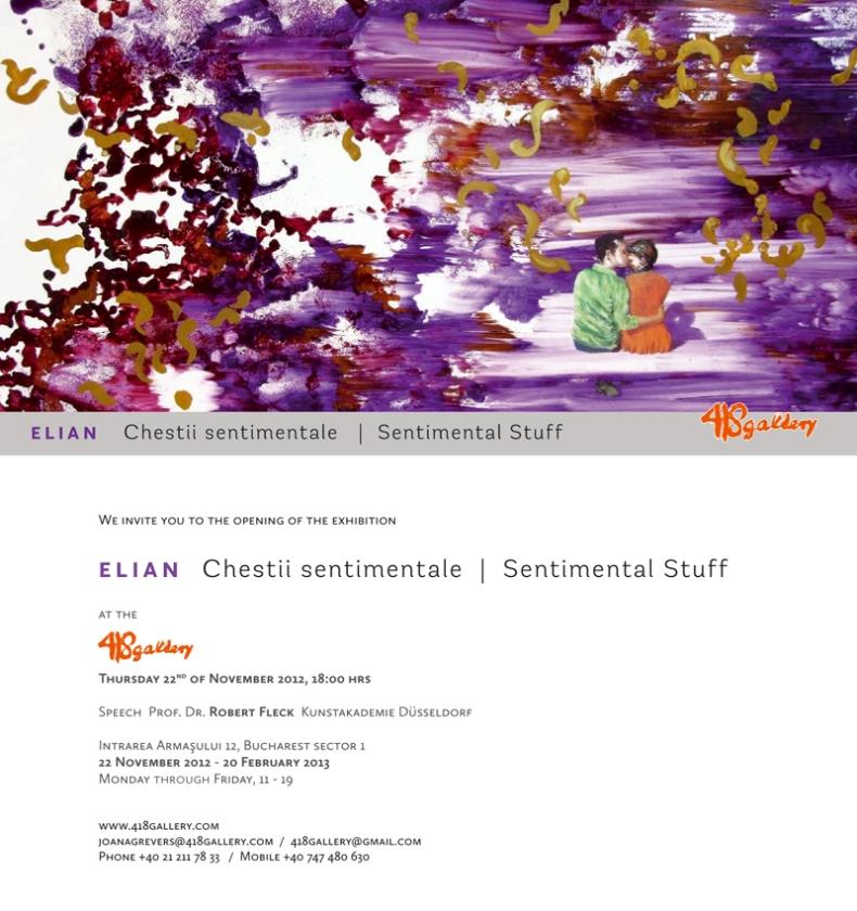 Sentimental Stuff | Adriana Elian | 418GALLERY