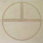 Vincentiu Grigorescu - La quadratura del cerchio, 60s, oil on canvas, 101x101 cm