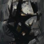 Andrej Jemec - Grey Day, 1960, oil on canvas, 110x75 cm