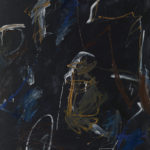 Andrej Jemec - Nightly Apparition, 1984, acrylic on canvas, 140x120 cm