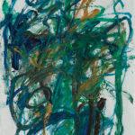 Andrej Jemec - Vienna Cycle 6, 1997, acrylic on paper, 100x70cm