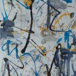 Andrej Jemec - Paradigm of the Rhythm 2000, acrylic on canvas, 130x110 cm