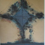 Vincentiu Grigorescu - Rombo, 1972 - 1973, acrylic on canvas, 125x90 cm