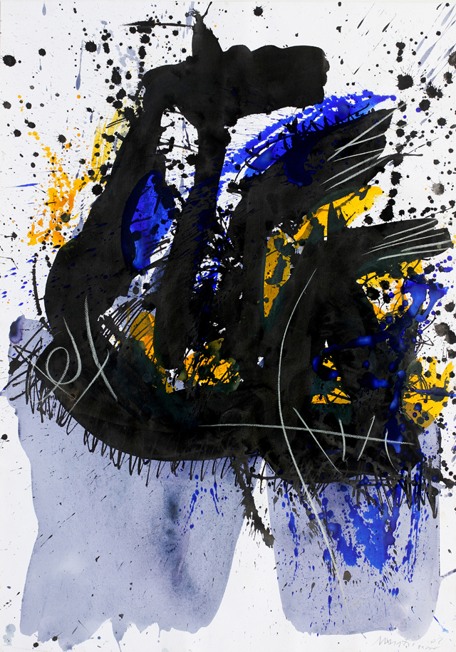 Edo Murtic - Untitled 2, 2002, gouache, 100x70cm