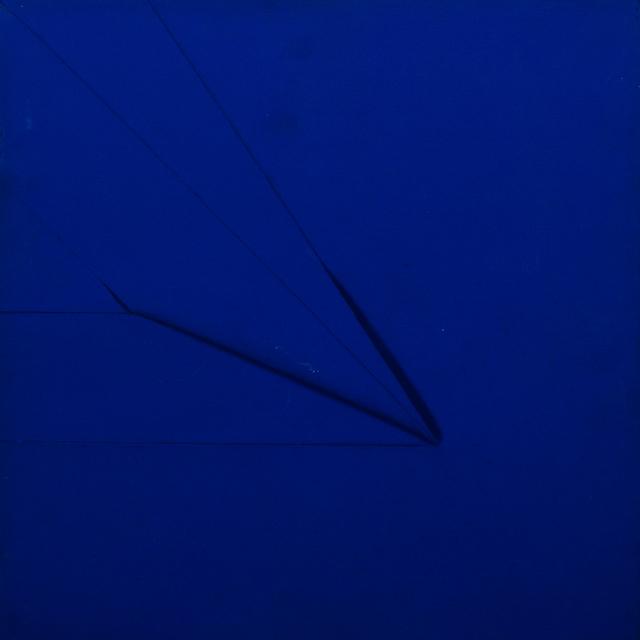 Vincentiu Grigorescu - Senza Titolo 2, 70s, acrylic on canvas, 30x30 cm