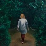 Maria M. Bordeanu - The Tunnel, 2018, oil on canvas, 120 x 120 cm