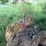 Albert Kaan - Doubtful Being, 2020, steel wire, 40x20x20 cm