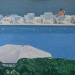 Maria M. Bordeanu - Reflection 5, 2020, 60 x 100 cm