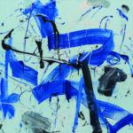 Andrej Jemec - The Secret is in the Stroke II, 2018, acrylic, canvas, 140 x 160 cm