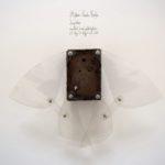Stefan Radu Cretu - Impleo, 2016, metal, plexiglass, 23x35x8cm