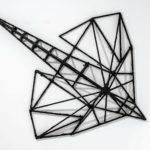Stefan Radu Cretu - Heliobatis, 2016, wood, fiberglass, 135x140x30 cm