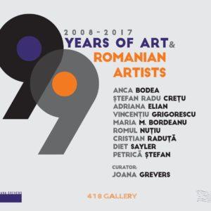 9 YEARS OF ART | 9 ROMANIAN ARTISTS