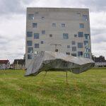 Stefan Radu Cretu - Hartley, 2013, fiberglass, metal, 3.2 m