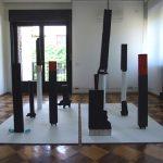 Cristian Raduta - Nomads, 2011, mixed media, 200 x 200 x 70 cm