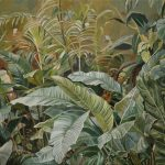 Maria M. Bordeanu - Foliage, 2014, oil on canvas, 46 x 61 cm