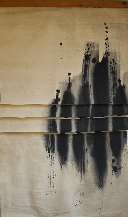 Vincentiu-Grigorescu-Sfogliature-3-1972-1973-tecnica-mista-su-tela-110-x-65-cm-177x300