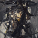 Andrej Jemec - Greyness, 1961, oil on canvas, 70x55 cm
