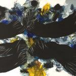 Edo Murtic - Encounters, 2001, acrylic on canvas, 150x200 cm