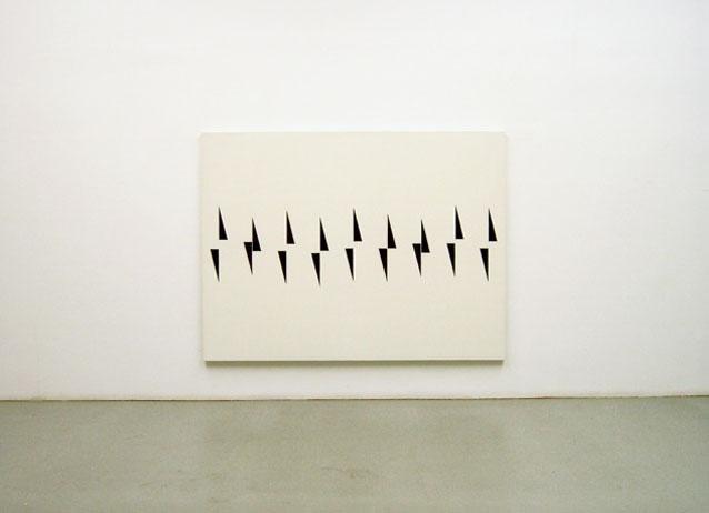 Untitled II 1988, acrylic on canvas, 150 x 200 x 4 cm