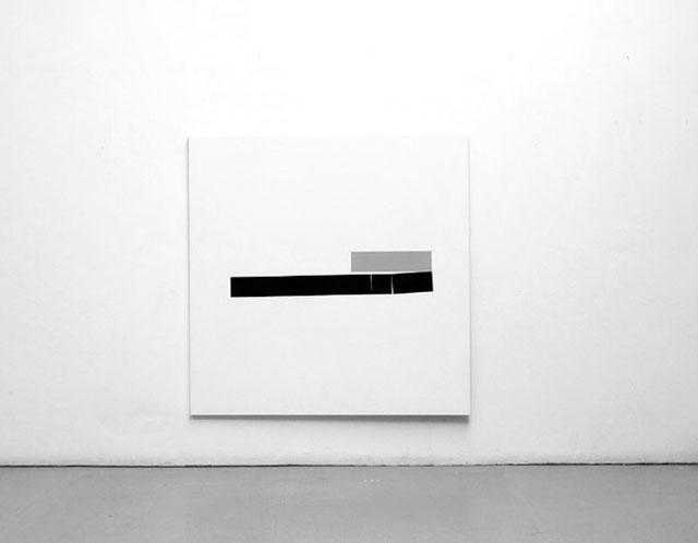Ohne Titel 1984, acrylic on canvas, 120 x 120 cm