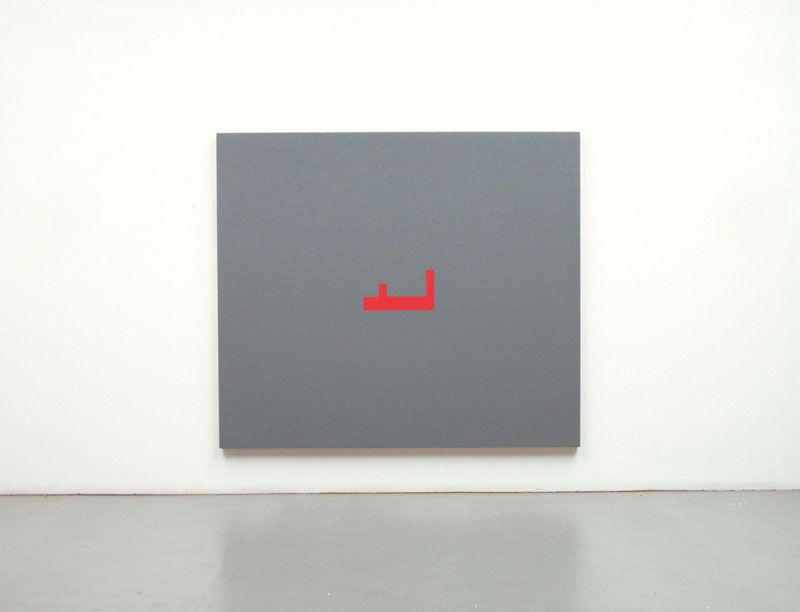 DIET SAYLER – MALSTUCK 5, 1992, acrylic on canvas, 149x171x5.5 cm