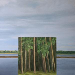 The Window_2018_oil on canvas_120cmx120cm