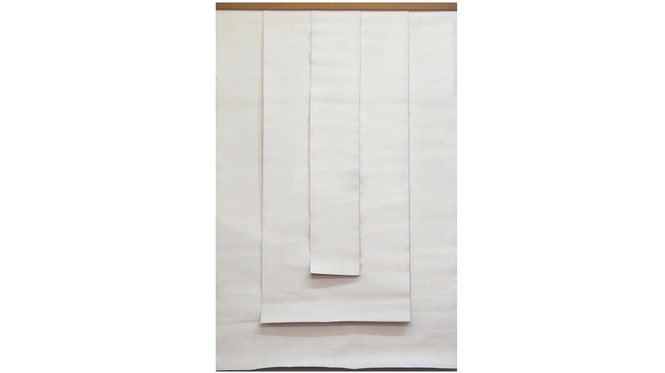 Vincentiu Grigorescu - Il Segreto, 1975, acrylic on canvas (untreated cotton), 170 x 114 cm_web
