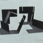 Roman Cotosman - Project for Sculpture, 1984-1995, drawing on paper, 21 x 28 cm
