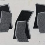 Roman Cotosman - Project for Sculpture, 2000-2002, drawing, 23 x 30 cm
